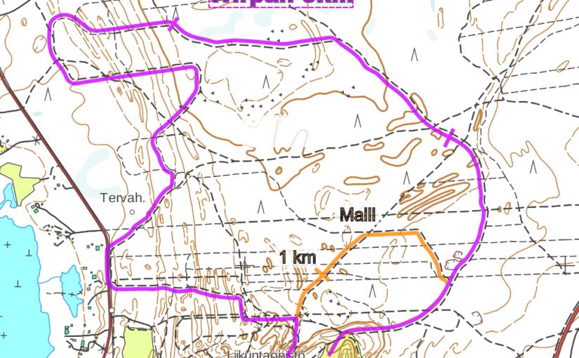 Virpan5:n – Reittikartta